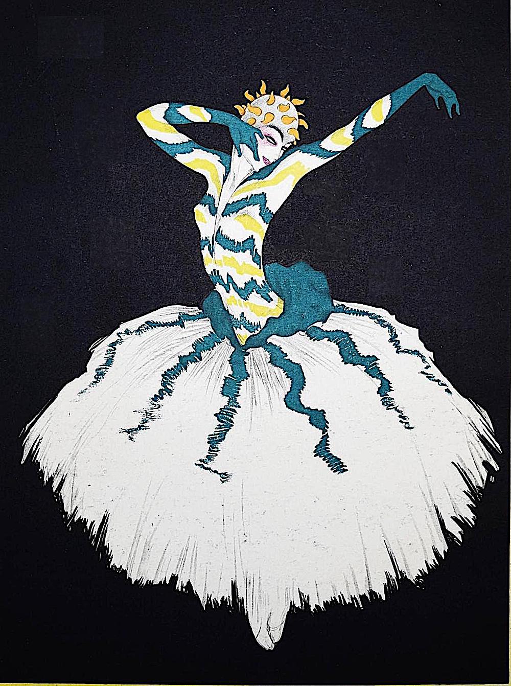 Walter Schnackenberg, a dark ominous dancer