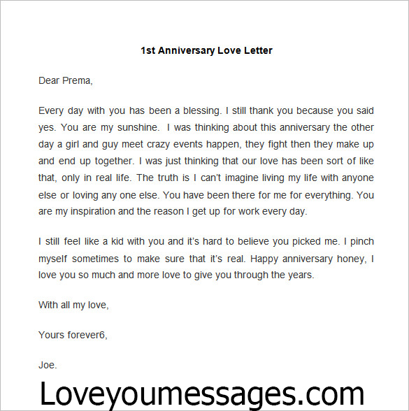 anniversary love paragraphs - happy 1 year anniversary letters