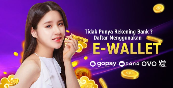 Daftar E-Wallet gopay ovo dana linkaja