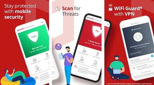 مميزات برنامج Mcafee Mobile Security لحماية الهاتف من الفيروسات