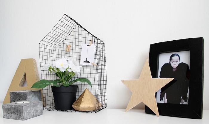 DIY casita metálica de estilo nórdico