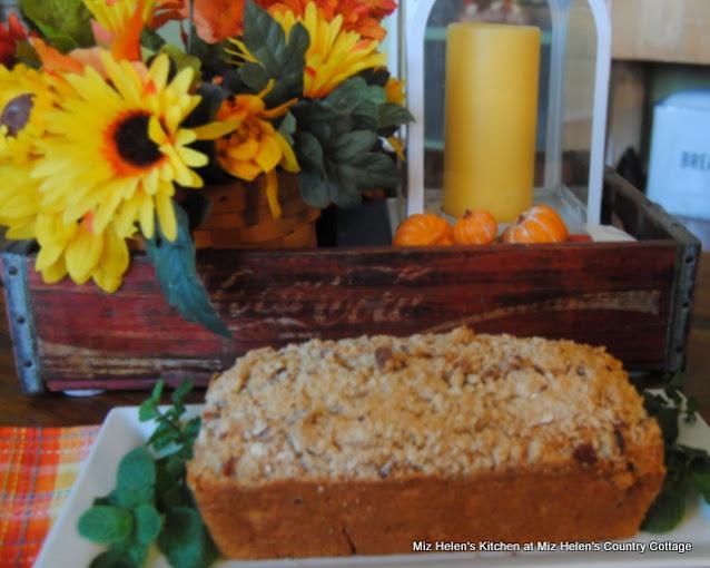 Sweet Potato Bread at Miz Helen's Country Cottage