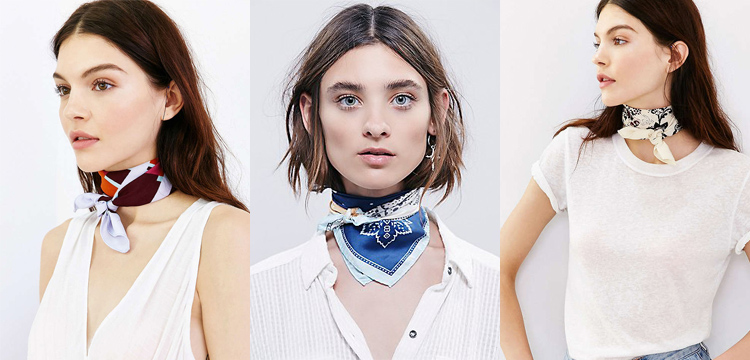 urban outfitters silky scarves, free people silky scarf, square scarves fall 2015, fall 2015 trends