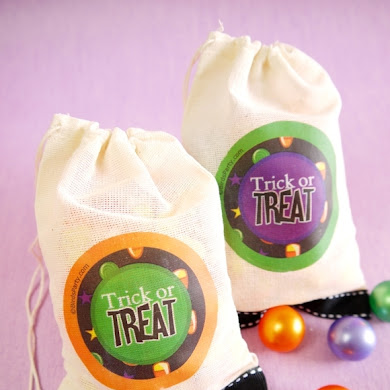 DIY Trick or Treat Halloween Favor Bags