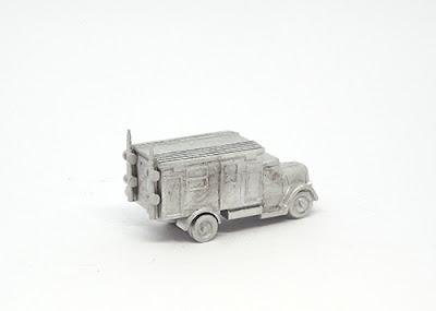 GRV123 Opel Blitz radio truck, Kfz.305/22