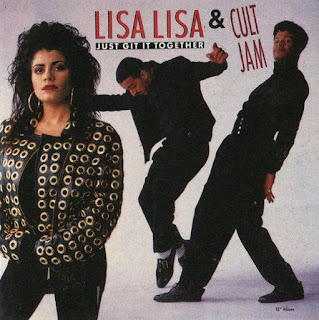 Lisa Lisa & Cult Jam ‎– Just Git It Together (VLS) (1989)