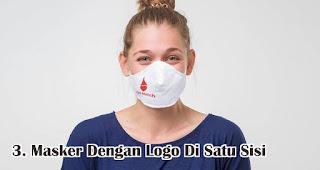 Masker Dengan Logo Di Satu Sisi Cocok Untuk Dijadikan Sebagai Souvenir Perusahaan
