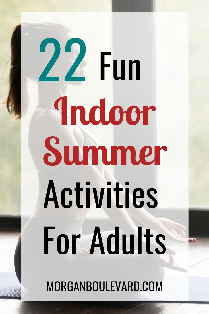 indoor summer activities