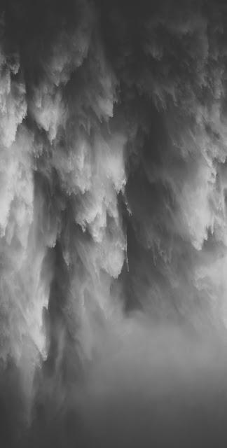 best black and white wallpaper 4k se water fall