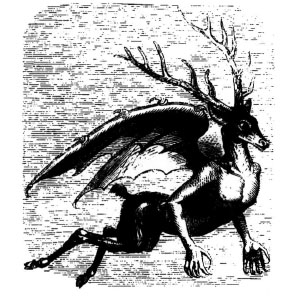Goetia - Furfur (Illustration)