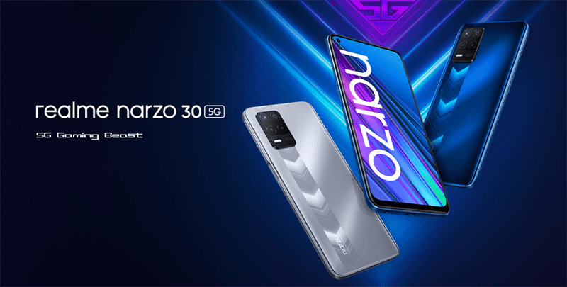 realme narzo 30 5G now official in Europe—features Dimensity 700 SoC, 90Hz screen