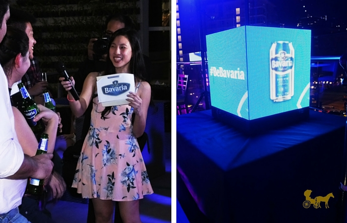 Ucc mentore bavaria beer launch from manila with love