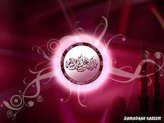 Gambar Kaligrafi Kata Kata Dan Ucapan Ramadhan
