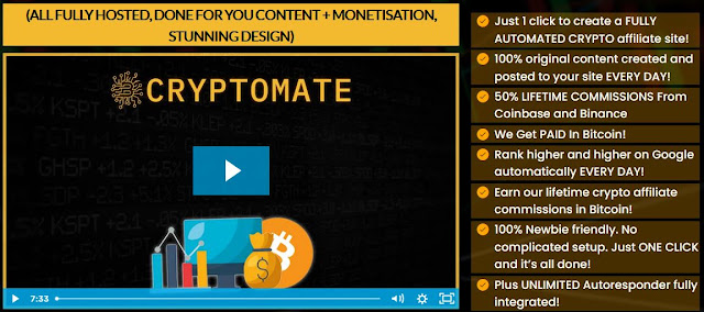 CRYPTOCURRENCY Affiliate Sites