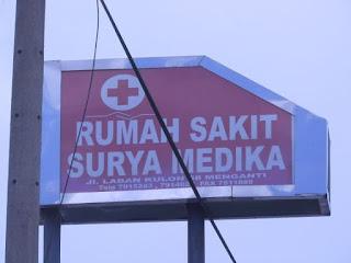 Alamat Rumah Sakit Surya Medika Gresik