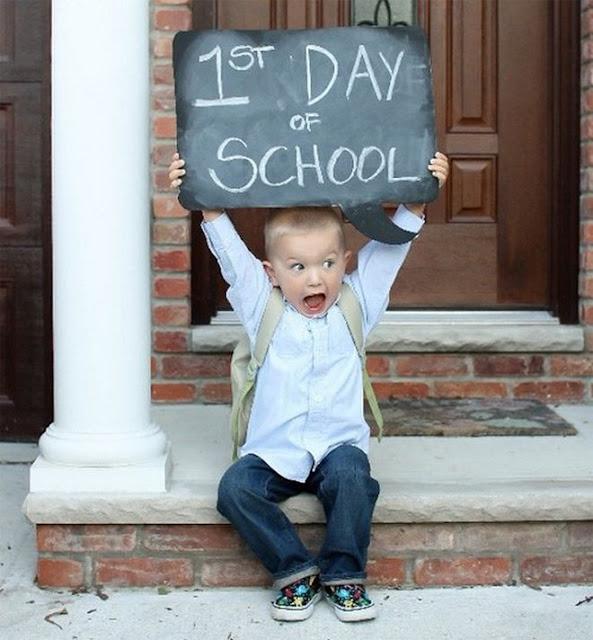 Πρώτη μέρα στο σχολείο..πως να πούμε αντίο;