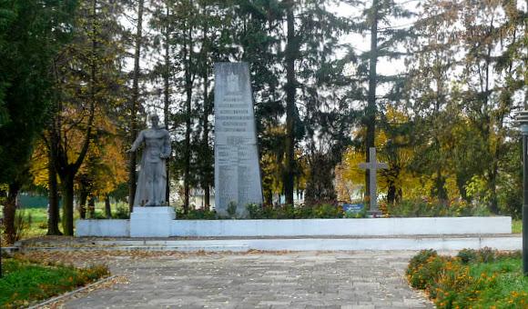 Жидачів. Військовий меморіал