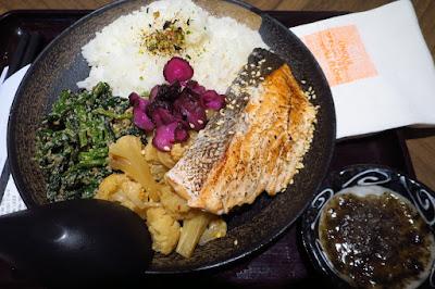 Kuriya, slow cooked salmon