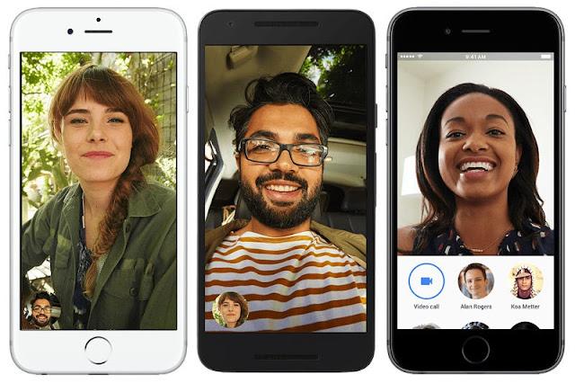 تطبيق مكالمات الفيديو البسيط. - Google Duo