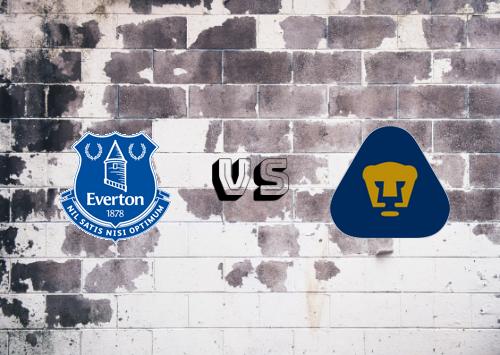 Everton vs Pumas UNAM  Resumen y Partido Completo