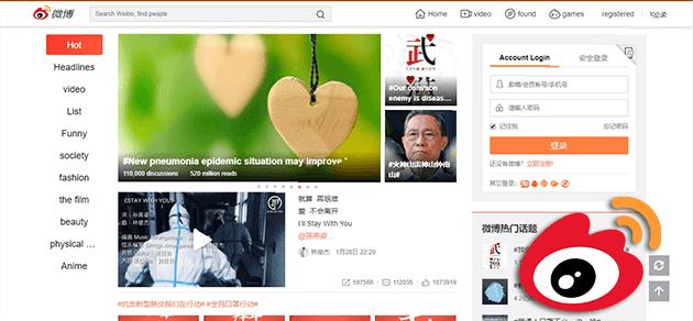 ترتيب افضل 10 مواقع التواصل الإجتماعي - سينا ويبو