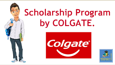 COLGATE Scholarship 2020 - 2021 Providing financial support to students