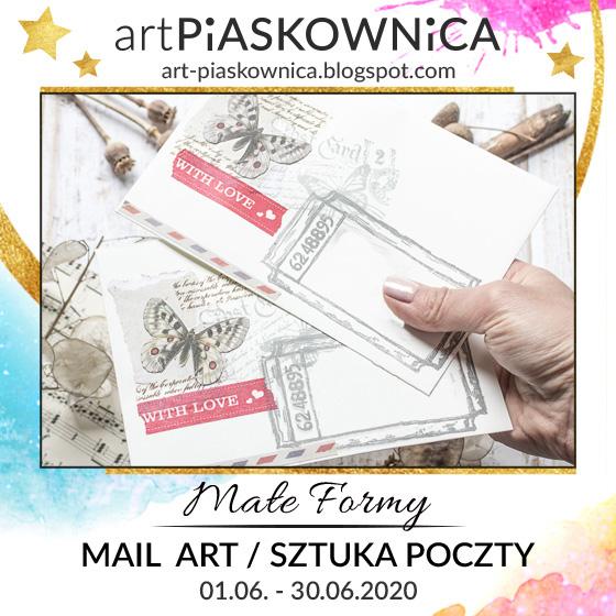 MAŁE FORMY - Mail Art / Sztuka Poczty
