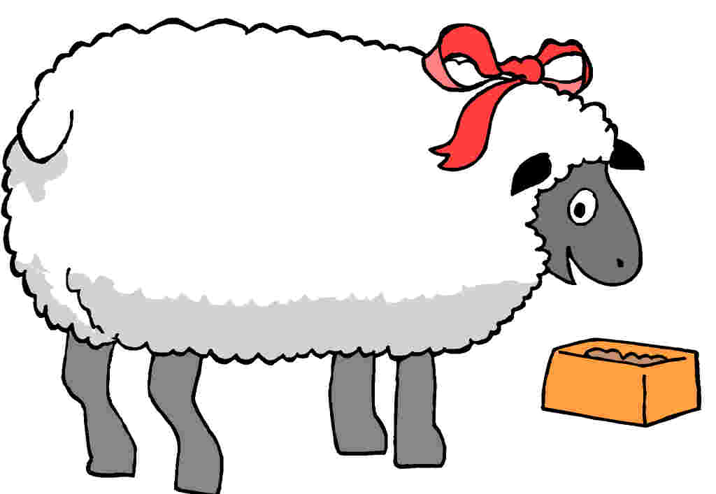lamb clip art cartoon - photo #26