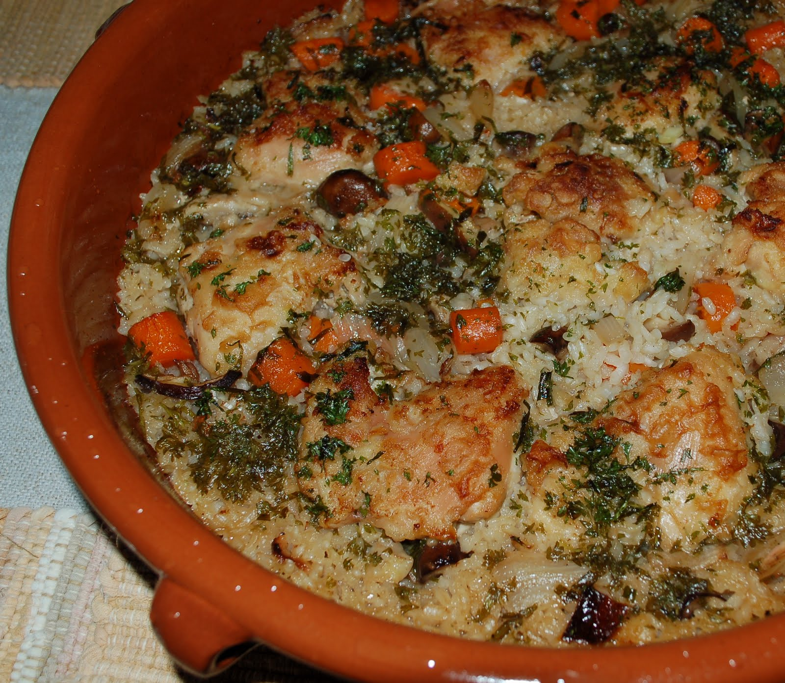 The Spice Garden: Braised Chicken Thighs And Oven