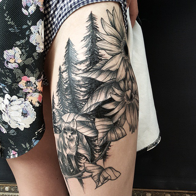 20 Most Beautiful Nature Tattoos