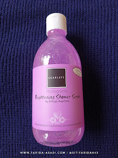 Scarlett Whitening Shower Scrub