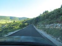 Asfaltirana cesta Nerežišća - Škrip slike otok Brač Online