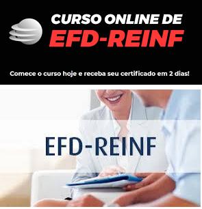Curso Online de EFD-REINF