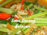 Sawi Goreng Belacan