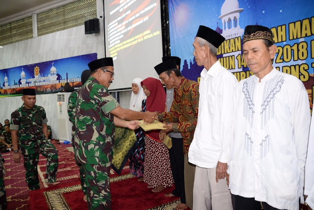 Warga Makostrad Peringati Maulid Nabi Muhammad SAW 1440 H/2018 M