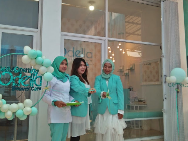 Grand Opening Odella Beauty Care Ambulu