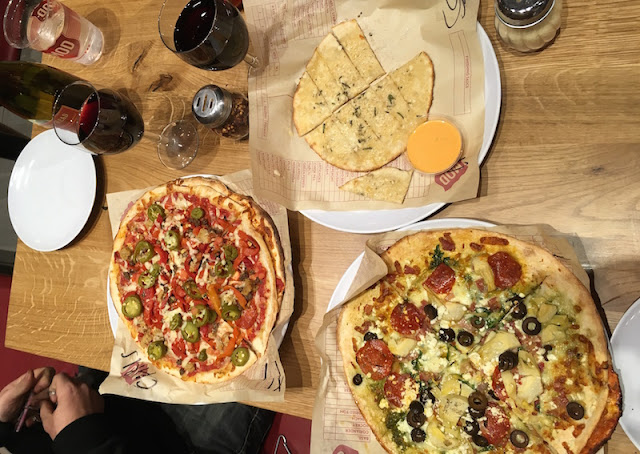 FitBits | MOD Pizza Brighton Marina restaurant review