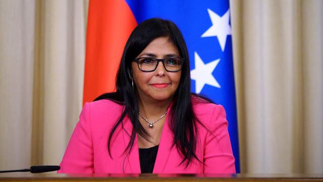 """La vicepresidenta de Venezuela pide a EE.UU. recuperar el diálogo con Maduro: """"No hay otro camino"""""""