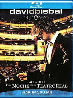 David Bisbal: Acústico – Una Noche en el Teatro Real [BD25]