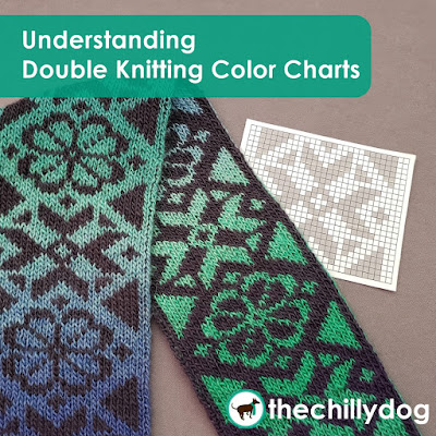 Knitting Tutorial: How to read double knitting color charts