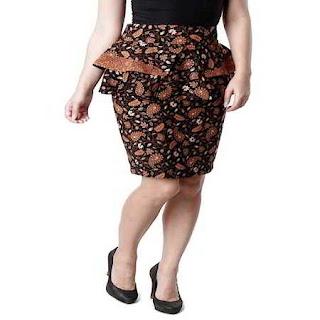 rok pendek untuk orang gemuk