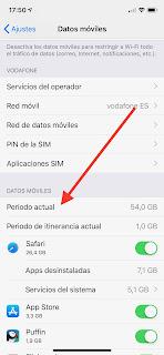 Controlar datos móviles