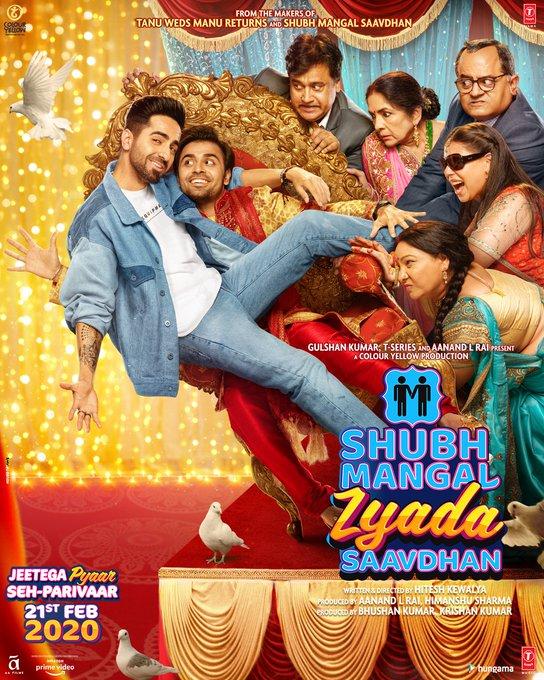 Shubh Mangal Zyada Saavdhan movie review and songs