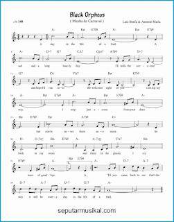 chord black orpheus lagu jazz standar
