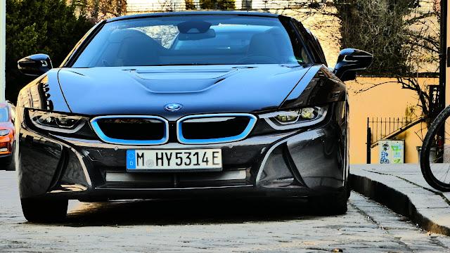 BMW i8 in München