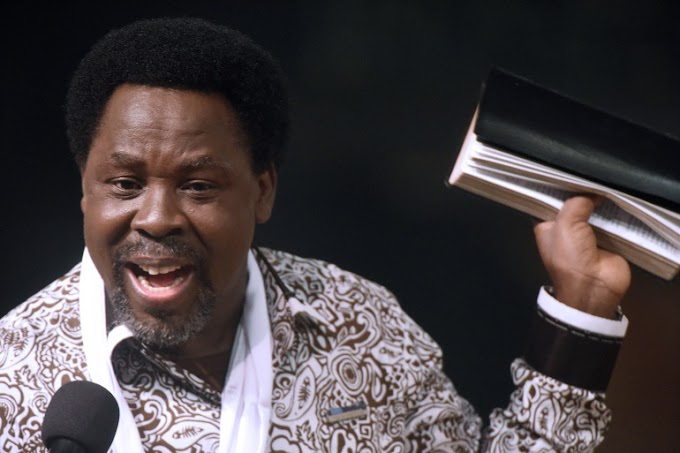T.B. Joshua is honored by the Senate with a minute of silence