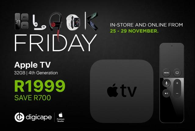 Apple TV – R1,999