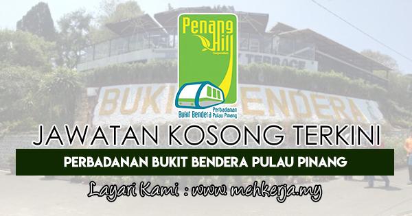 Jawatan Kosong Terkini 2018 di Perbadanan Bukit Bendera Pulau Pinang
