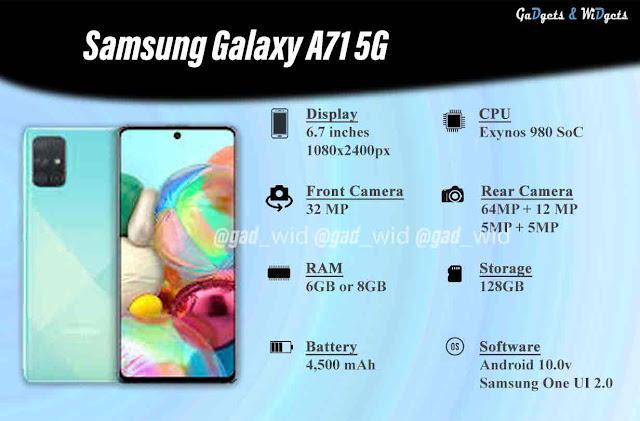 Samsung Galaxy A71 5G Price in Nepal, Samsung Galaxy A71 5G Key Specs, Samsung Galaxy A71 5G, Samsung Galaxy A71 5G price in US, Samsung, Samsung Galaxy,