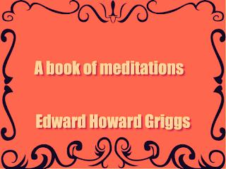 A book of meditations